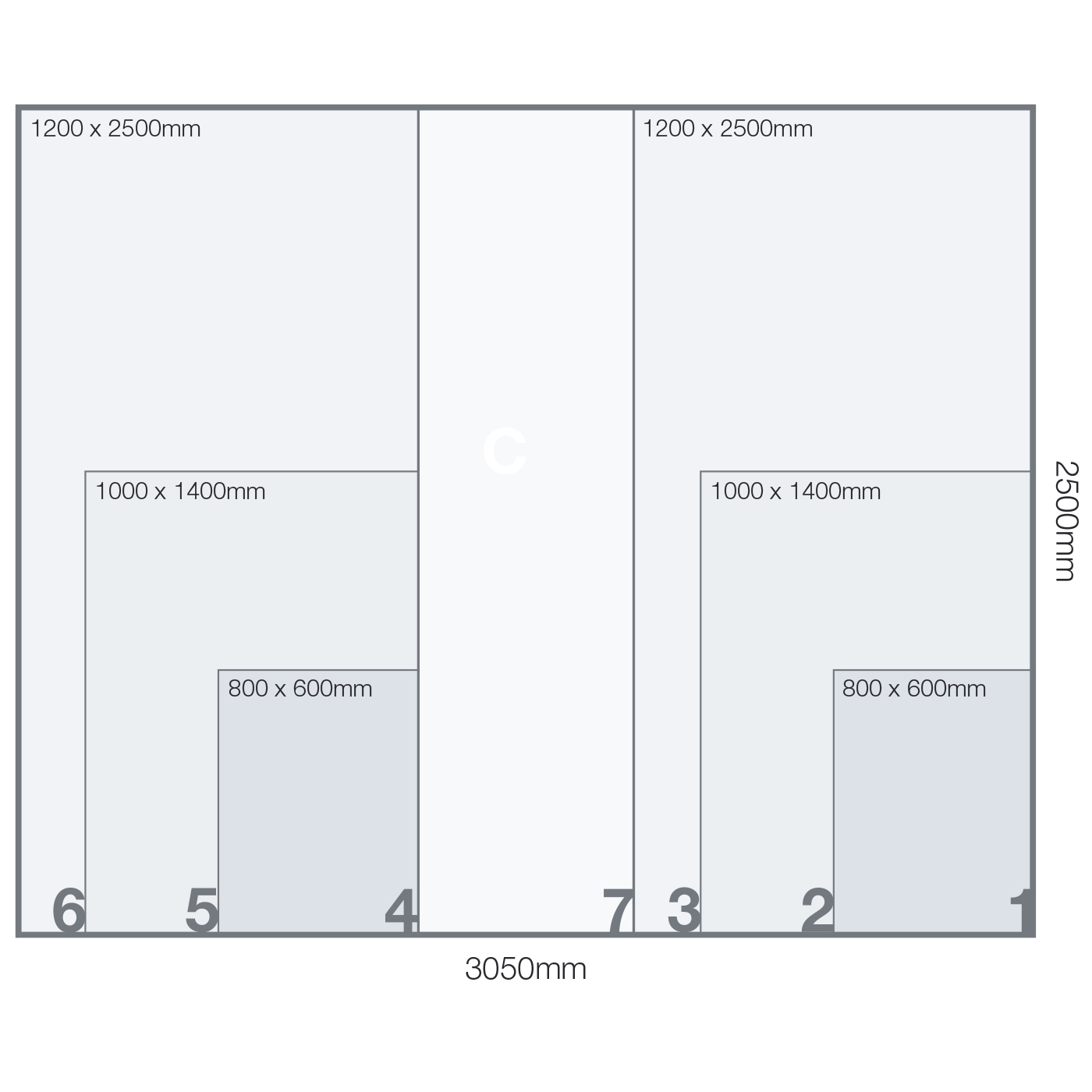 Acuity-F-bed-layout